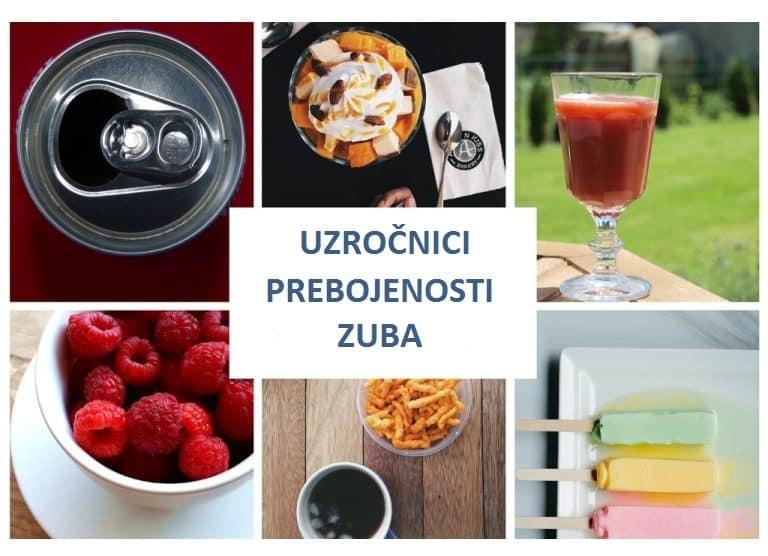 Hrana i pića koja izazivaju prebojenost zuba