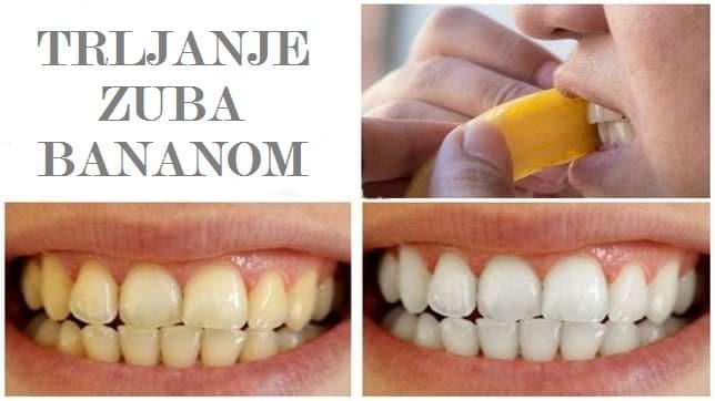Beljenje korom od banane slike pre i posle