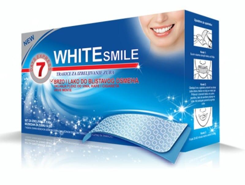 White Smile Trakice za Izbeljivanje Zuba