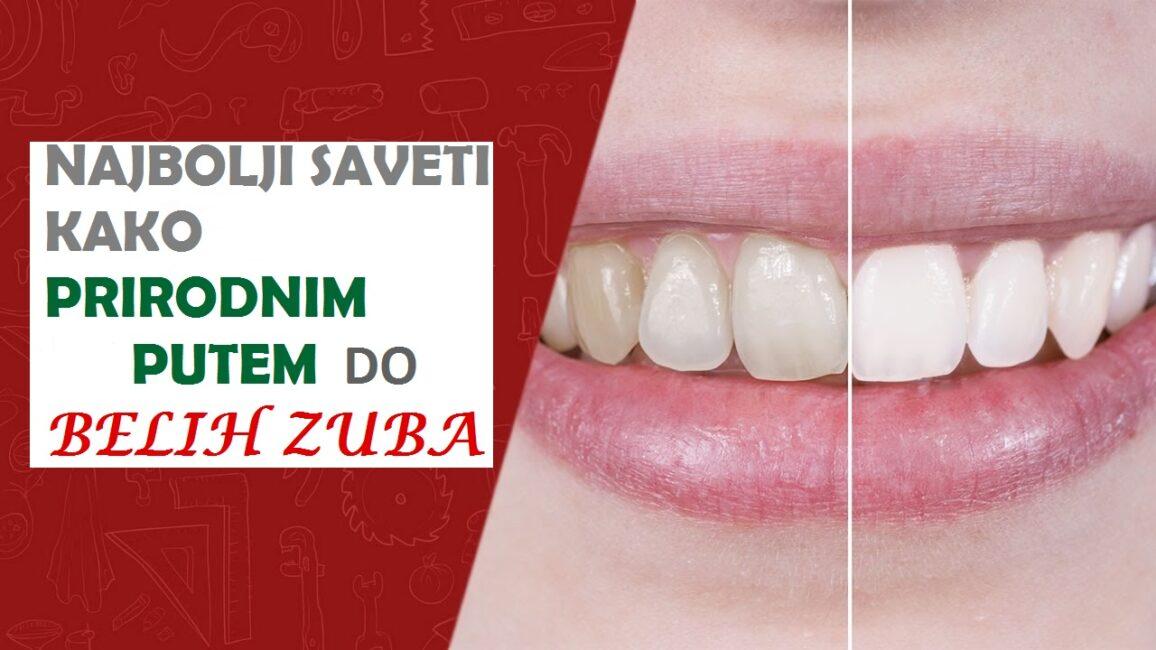 Top 10 Načina Kako Izbeliti Zube Prirodnim Putem