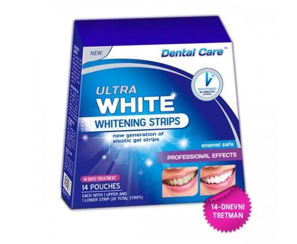 ultra white trakice za izbeljivanje zuba
